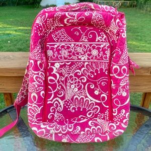 Vera Bradley Twirly Bird Laptop Backpack